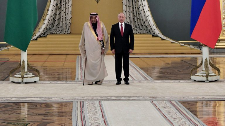 With Petrodollar Hostage, Saudi Arabia Now Courting Russia