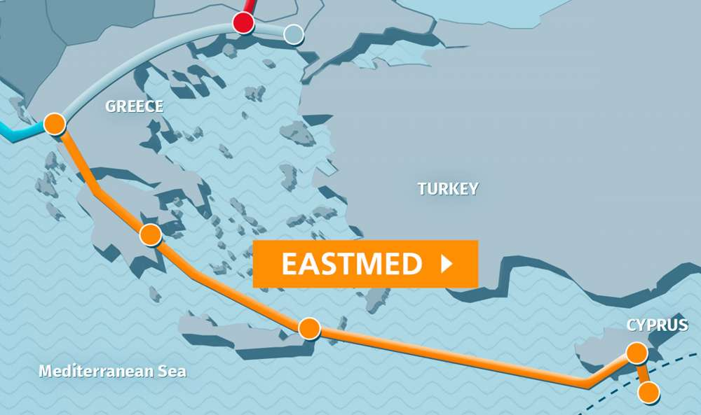 East Med gas pipeline is missed chance for regional cooperation and security